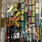 Hampton Direct Sewing Kit W/100 Mini Thread Spools,48 Self Thread Needles #14748