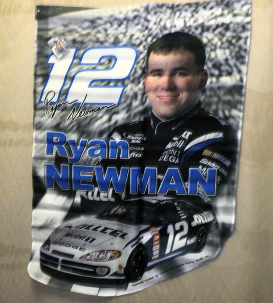 "HiREV Nascar 28"" X 40"" Ryan Newman #12 Die Cut Flag #55624"