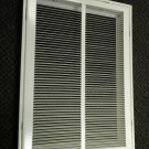 """Hart & Cooley White Metal 14"""" X 20"""" Filter Grille #659 043405"""