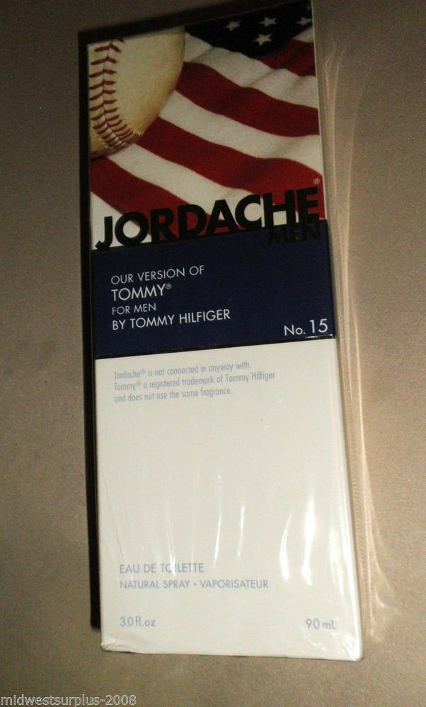 Jordache Tommy For Men No.15 Eau De Toilette Natural Spray 3.0 Oz