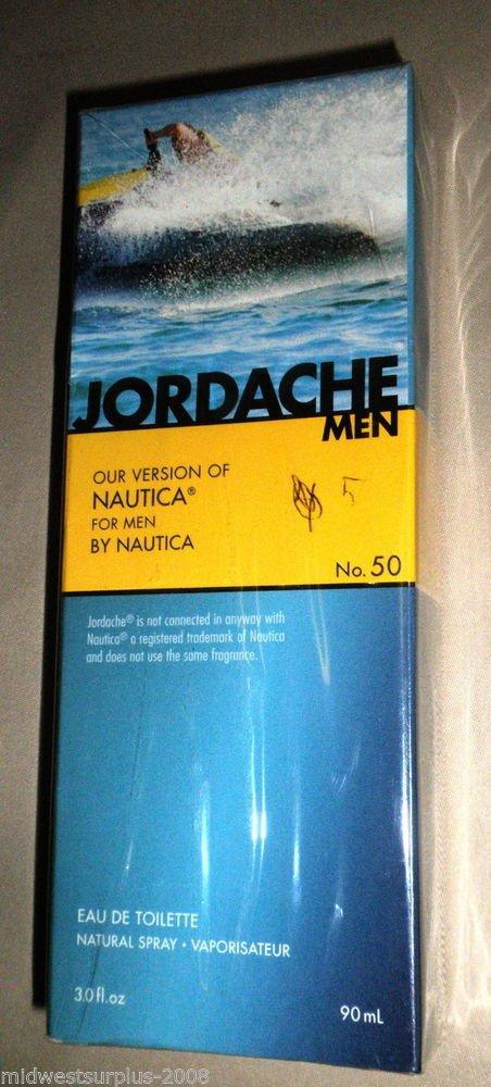 Jordache Nautica For Men No.50 Eau De Toilette Natural Spray 3.0 Oz