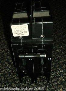 Airpax 2 Pole Unit M209 240 VAC #209-2-20414-1 LR26229 Circuit Breaker