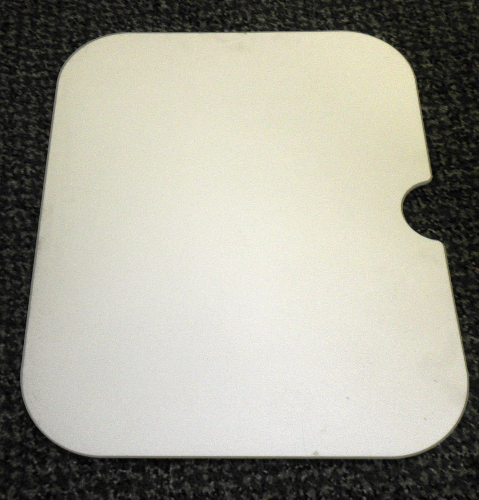 "RV Almond Sink Cover Size: 11 1/2"" X 14 1/8"" X 1/4"""