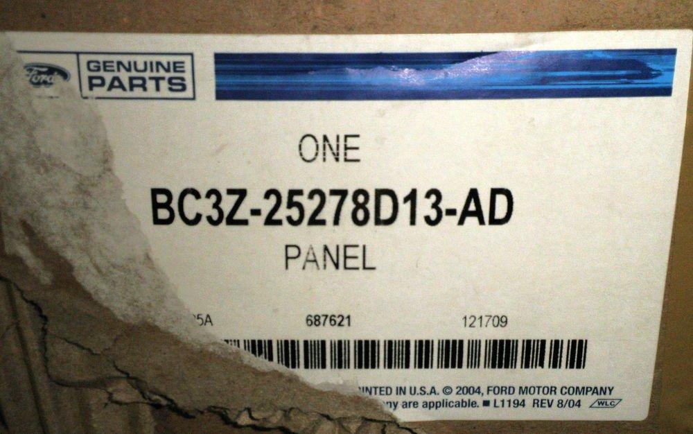 Ford Genuine Parts - Left / Driver Side Upper Trim Panel #BC3Z-25278D13-AD