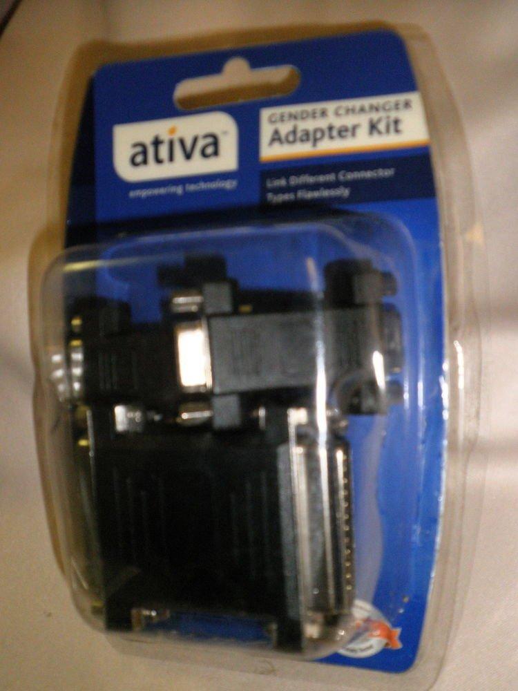 Ativa Gender Changer Adapter Kit #937-137