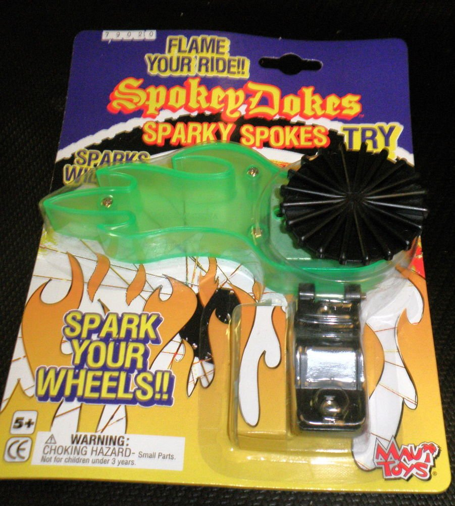Maui Toys Spokey Dokes Sparky Spokes For Bicycles #79020-Green