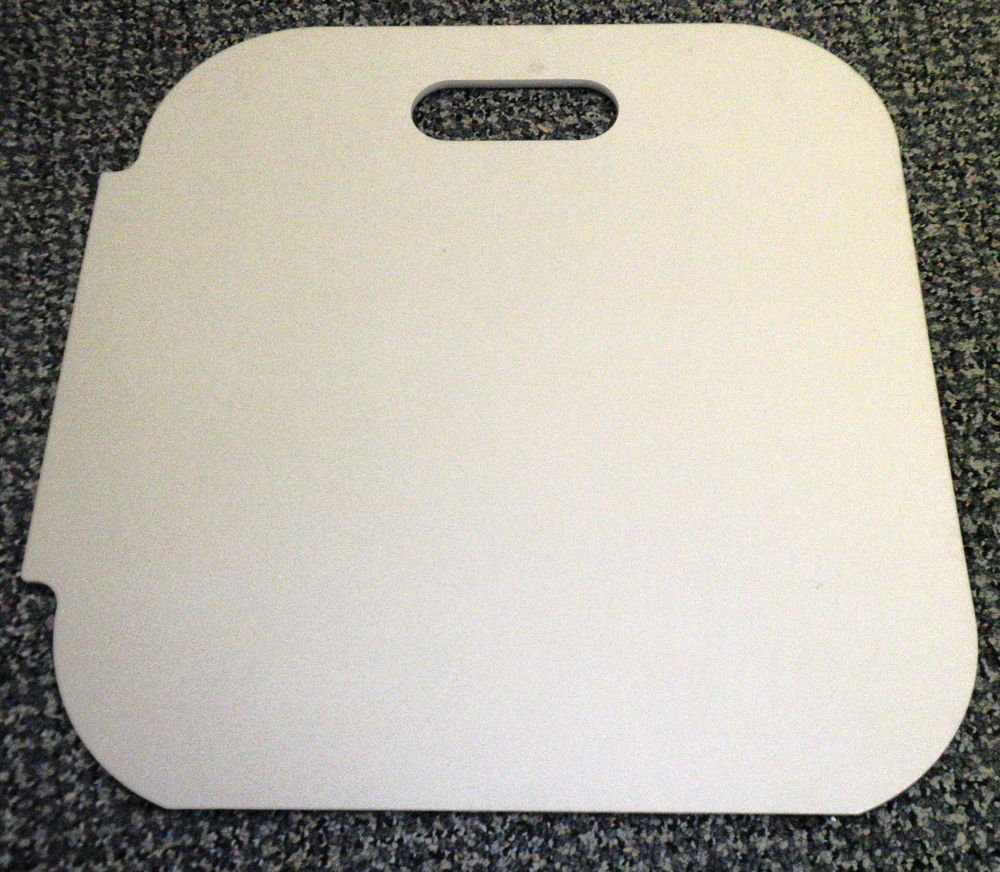"""RV Taupe Sink Cover Size: 14 3/4"""" X 15 1/8"""" X 1/4"""""""