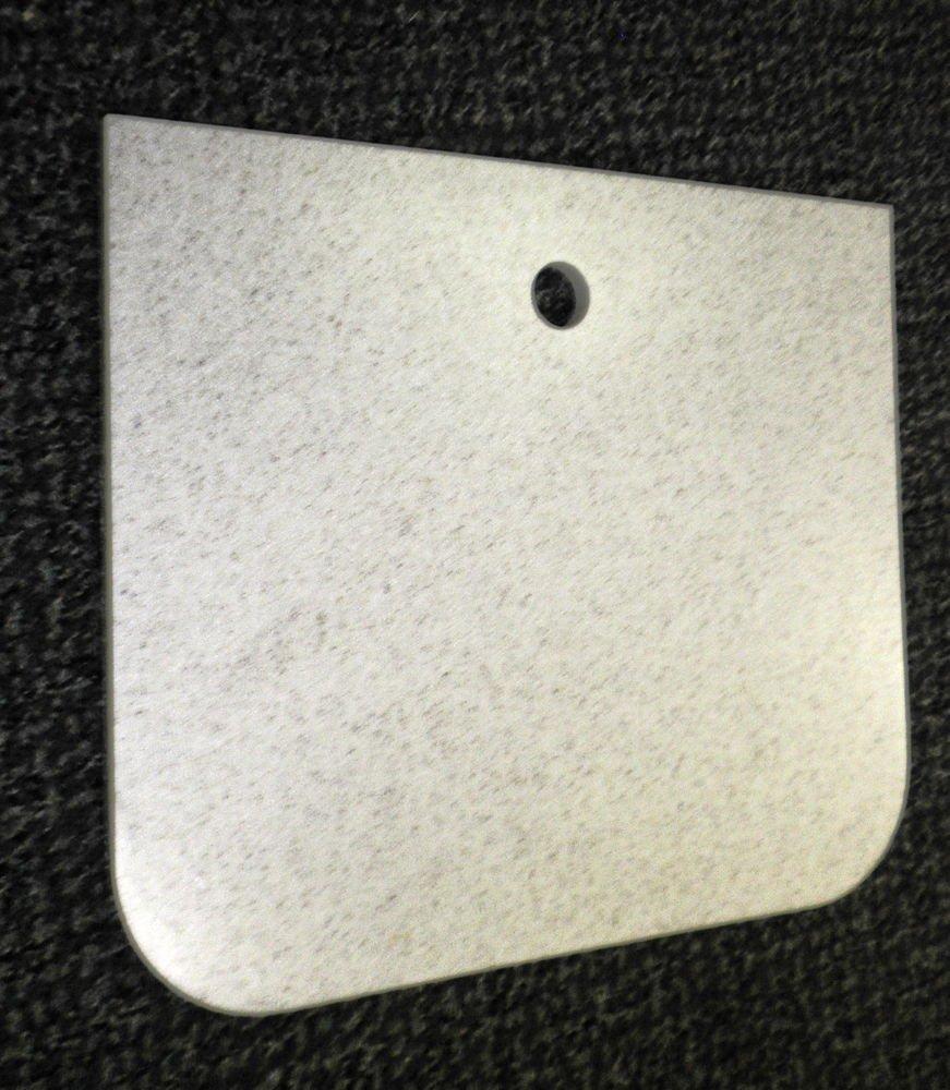 "RV Aurora Speckled Corian Sink Cover Hole S.E Size: 11 3/4"" X 13 11/16"" X 3/8"""