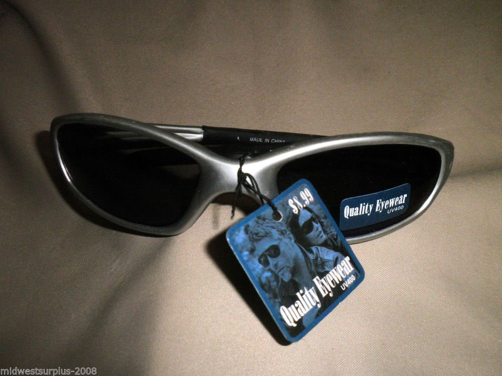 Quality Eyewear UV400 Sunglasses QPDM-C6 02509 Silver