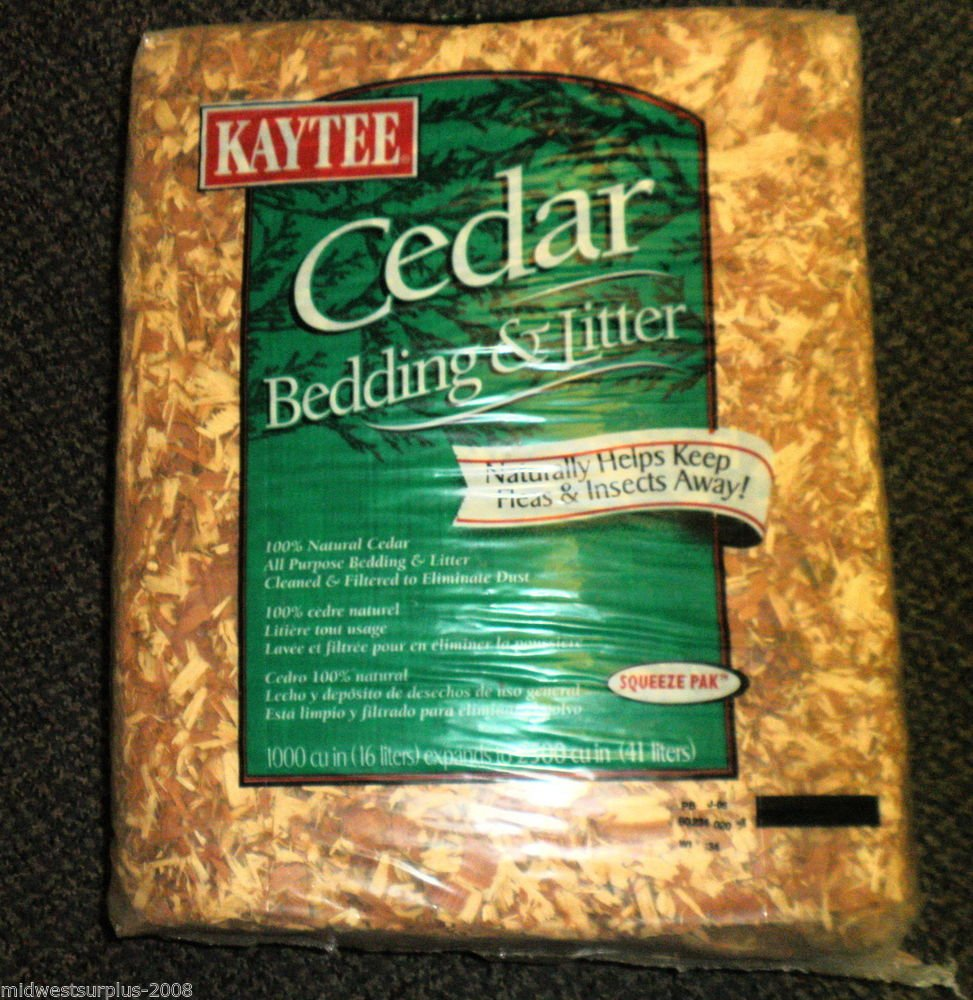 Kaytee Pet 100032012 Cedar Animal Bedding & Litter 1000 cu in / 16 Liters