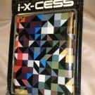 i - X - CESS iPAD Designer Hard Case - Multi Color Shapes