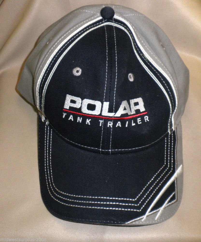 "Cap America Mens "" Polar Tank Trailer "" Baseball Cap OSFM"