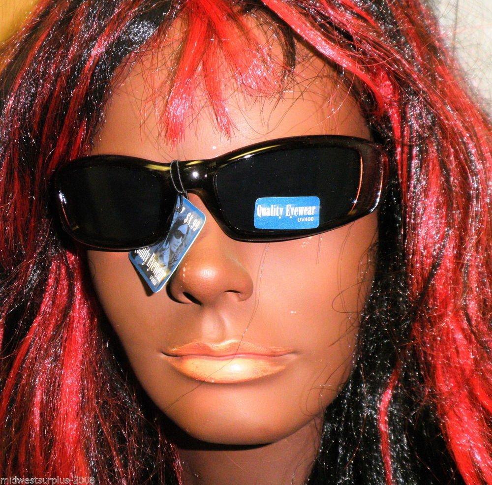 Quality Eyewear UV400 Sunglasses SG41-Color Black / Bronze