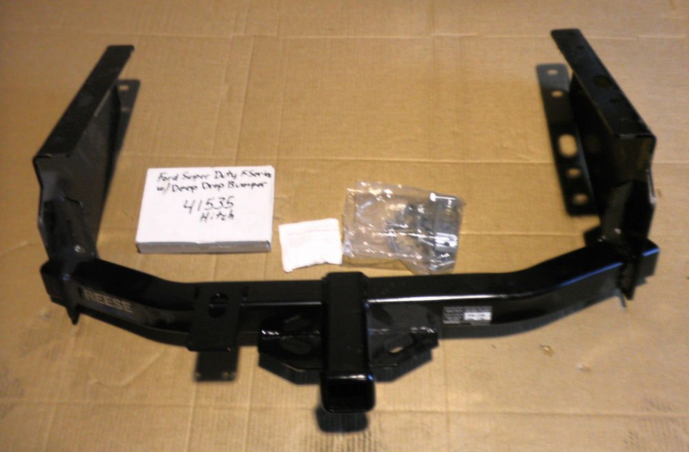 Ford Super Duty F Series With Deep Drop Bumper 41535 Hitch