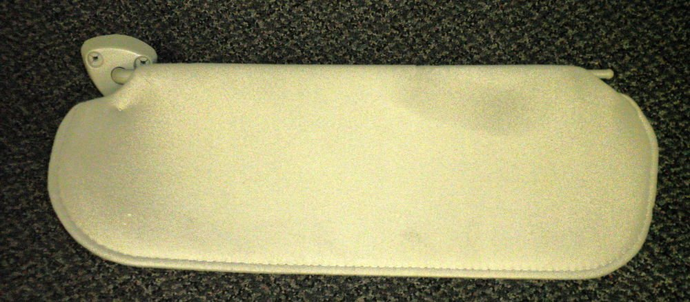 "Auto Tan Sunvisor With Retainer Clip Size: 20 1/2"" X 7 1/8"""