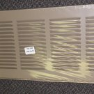"Tru Aire Brown 24"" X 8"" Return Air Grille 1/2"" Louver #170B24X08"