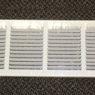"Continental Industries White 30"" X 6"" Return Air Grille 1/2"" Louver #G35W3006"