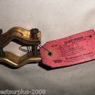 "Thomas & Betts 3888 Red Brass Ground Clamps For 1/2""-1"" Pipes"