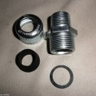 """Cooper Industries CGB195 1/2"""" Straight Body Male Thread Cord & Cable Fitting"""