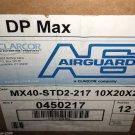"Clarcor MX40-STD2-217 10"" X 20"" X 2"" Air Filter 12 Piece Case #0450217"