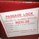 Cal-Royal Products Inc. US10B Oil Rubbed Bronze Passage Lock #REN-30