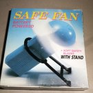 Battery Operated  Pocket / Purse Size Safe Fan With Stand #883
