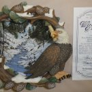 The Hamilton Collection Winter's Flight Special Edition Plate #080720