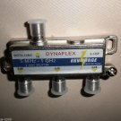 Dynaflex 3 Way Splitter  5MHz-1GHz 6KV Surge #S-13SP