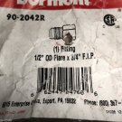 "Dormont 90-2042R 1/2"" OD Flare X 3/4"" F.I.P Fitting #662447047606"