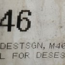 Desestination Sign Black Rubber Seal 10' #M4005 / 066846