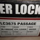 Tell Mfg. Lever Lockset LC3675 Passage RL100039 CTL Lever Adjustable