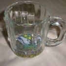 Notre Dame Fightin' Irish Clear Glass Mini Beer Mug