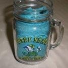 Notre Dame Fightin' Irish Clear Glass Mason Jar Mug