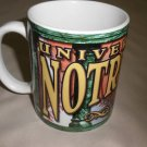 Linyl Glassware University Of Notre Dame All Sport Multi Colored Coffee Mug #ND5