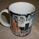 Linyl Glassware University Of Miami Hurricanes Multi Colored Coffee Mug #UOM#2