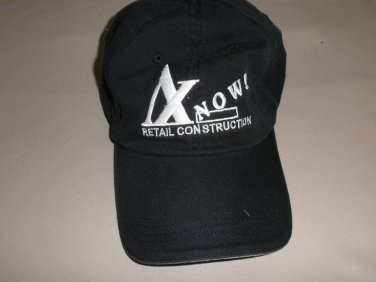 Cap America Black A 1 Now! Retail Construction Baseball Cap OSFM