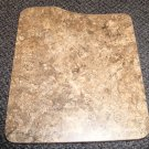"""Laminated Brown Marble Sink Cover Size: 13 3/8"""" Wide X 15 7/8"""" Long X 5/8"""" Thick"""