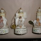 Bradford Edition 6th Issue Guiding Light Heirloom Porcelain Ornaments (3) #39076