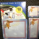 Norcard Ltd. Dog Flying Plane Mouse Pad Gift Set - Mouse Pad, List Pad & Coaster