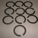 "1 1/8"" Steel Snap Retaining Ring Set 10 #7700720886"