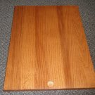 "RV Solid Wood Pocket Door / Bread Cutting Board Size: 13 3/4"" X 18 1/2"""