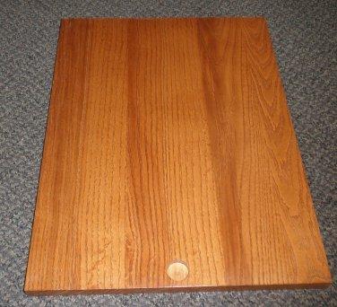 "RV Solid Wood Pocket Door / Bread Cutting Board Size: 13 3/4"" X 18 1/2"""