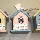 DW Wood Mini Bug Birdhouse  3 Assorted Colors - Pick 1 #KLY58092