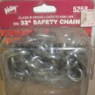 "Valley Industries 32"" Safety Chain Class III Gross Loads 5,000 Lbs. #5258"