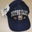 Logo Athletic Notre Dame Irish ND Baseball Cap Navy OSFM #2183576022