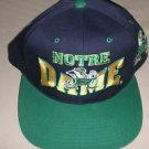 US Headwear Notre Dame Baseball Cap Navy / Green OSFM #180