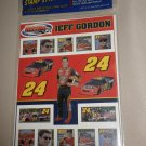 Merrick Mint Co. Jeff Gordon Collectible Racing Stickers  1 Pack #749002990048