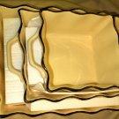 LCI 3 Piece Beige Handled Casserole / Baker Dish Set #230573-01