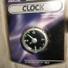 "Concept XT 2"" Analog Battery Operated Clock #23001 UPC: 077341230014"