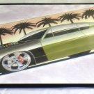 """Cool Tin Art Metal Car Sign Size: 16 1/2"""" Wide X 11"""" Long #CTAMC7"""